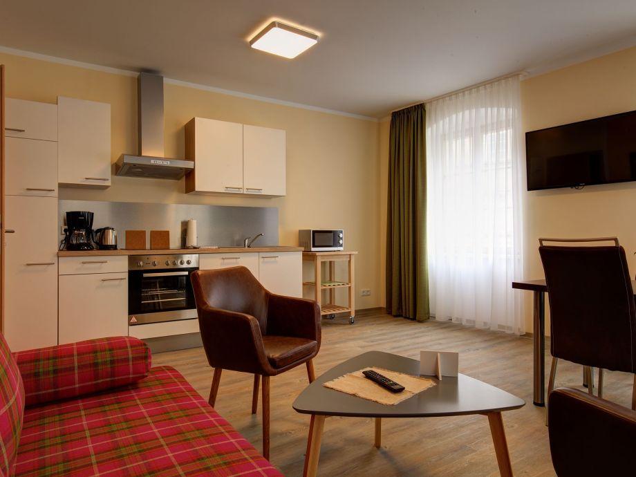 Ausstattung 3 Apartments am Schwibbogen