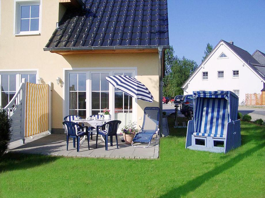 Ferienhaus Sonnenschein mit der Terrasse