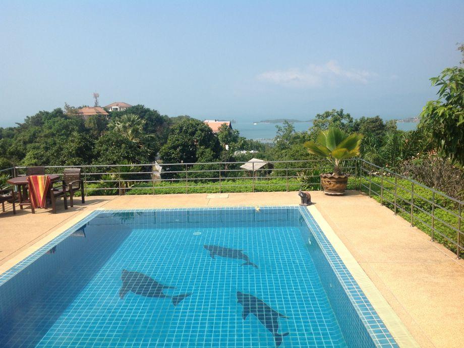 40qm privater Pool mit traumhaftem Meerblick