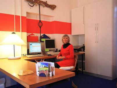 Your host Paola Quaglierini