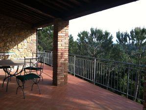 Ferienwohnung Riparbella La Pinetina 2 camere vista mare