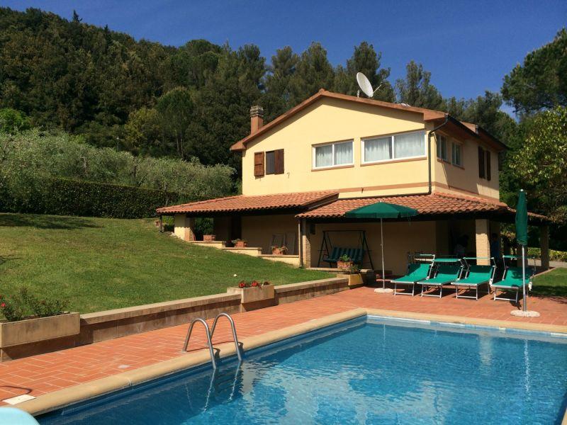 Riparbella Villa Fontespadini con piscina