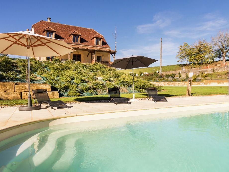 Außenaufnahme Villa Montignac