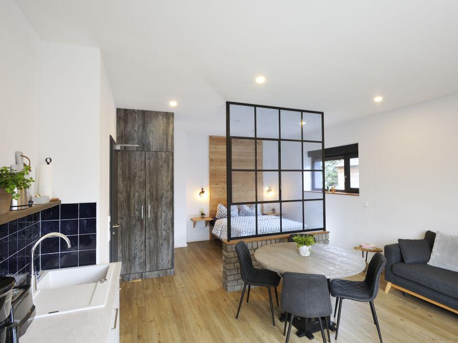 Studio Apartment für bis zu 3 Personen geeignet