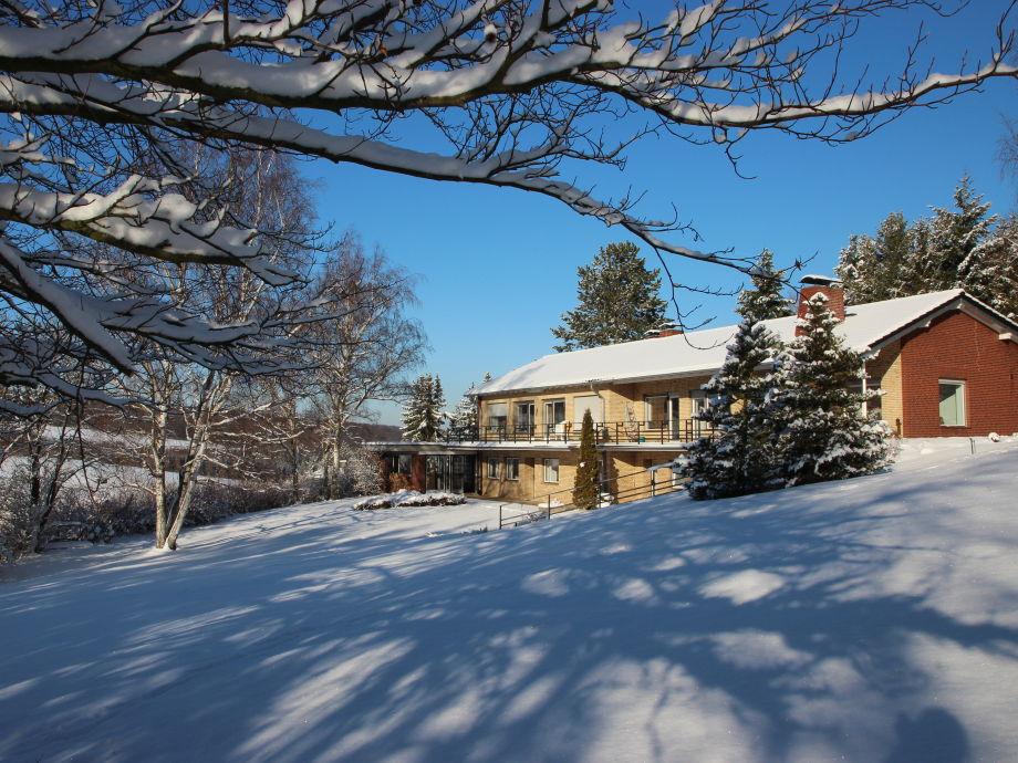 Villa Schönau im Winter