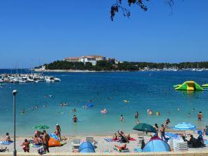 Ferienwohnung Marina für 4-6 am Strand