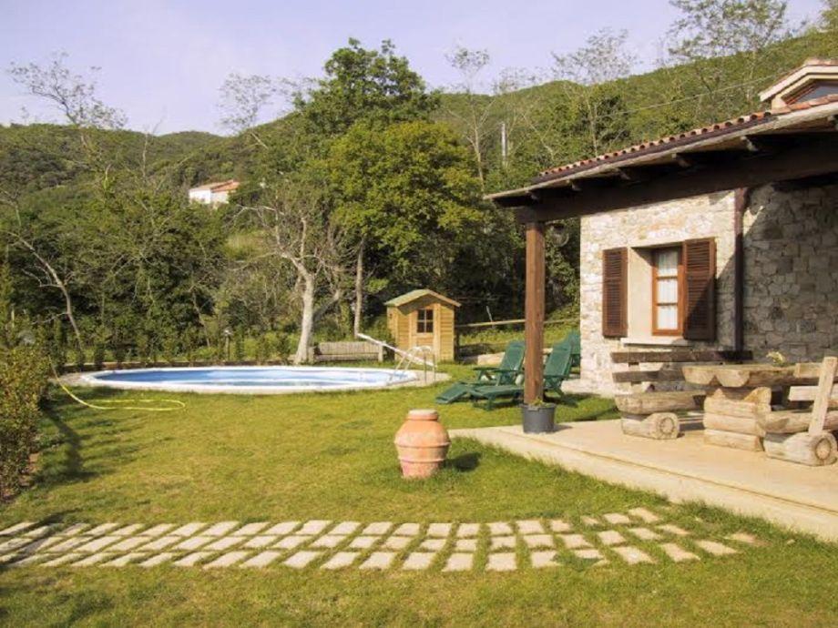 Villa Castellina mit Pool