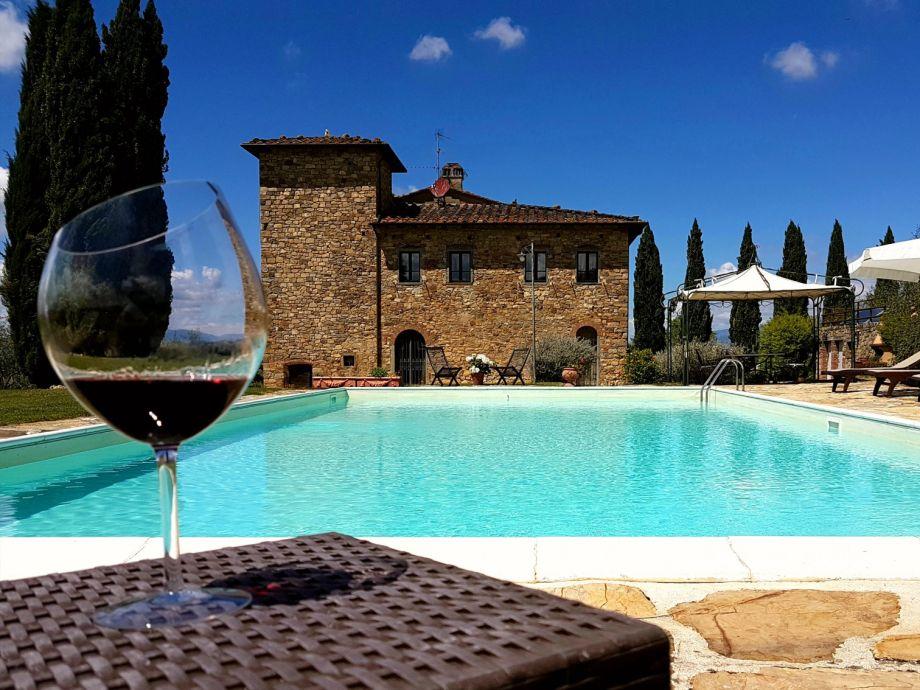 Außenaufnahme Privacy and Charme at Villa Pietraia