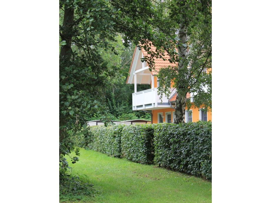 """Haus """"Waldidyll 21"""" Parkansicht"""