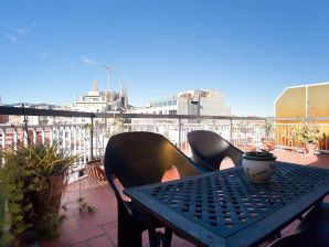 Holiday apartment Atic Sagrada Familia