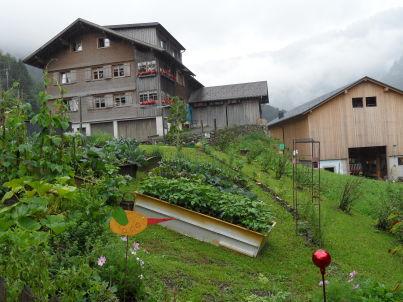 Farnachstube auf dem Bauernhof Farnach