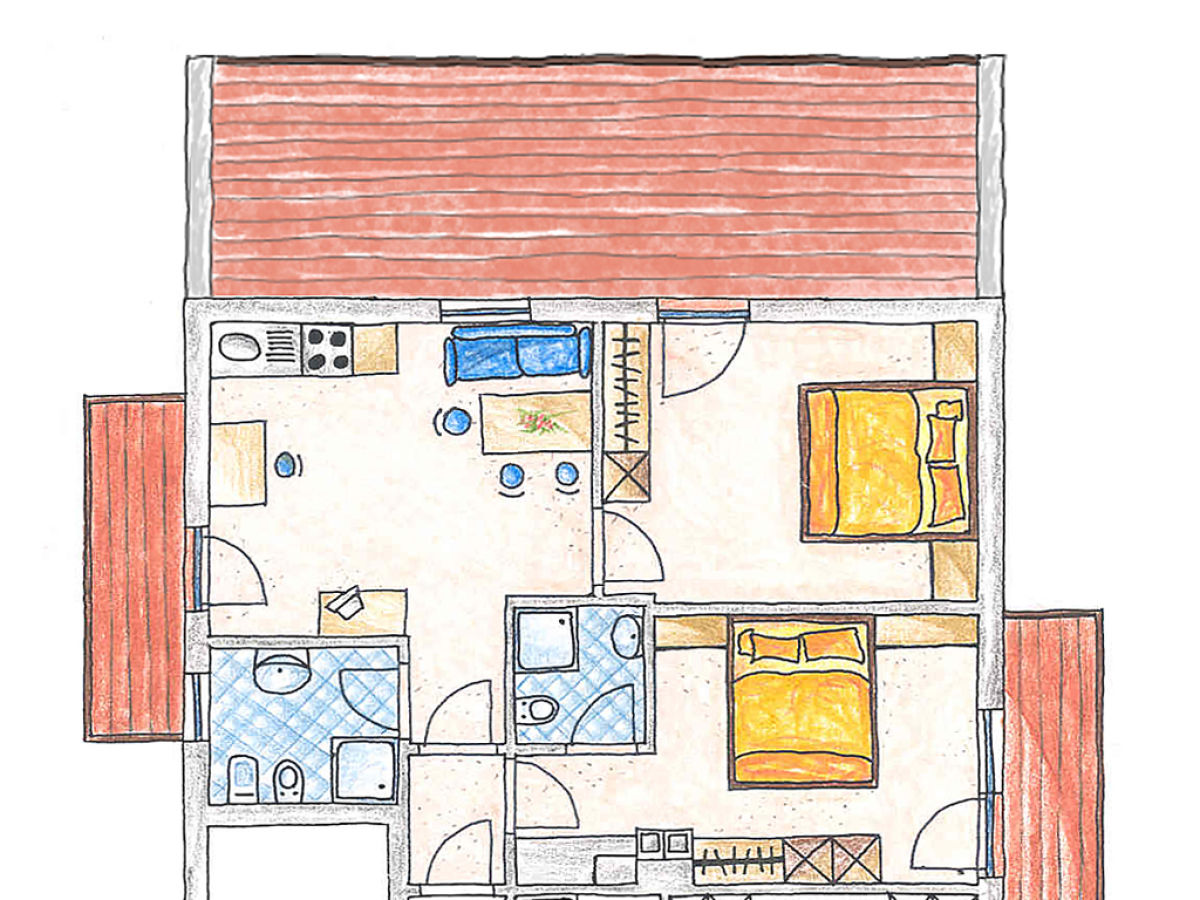 ferienwohnung 4 in der residence l rchwiese ahrntal kronplatz firma residence l rchwiese. Black Bedroom Furniture Sets. Home Design Ideas