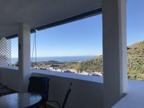 Holiday apartment CASA de CALAHONDA mit Meerblick, Klima, Pool, WLAN
