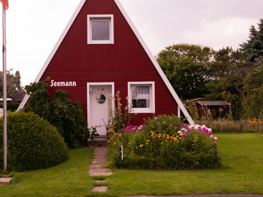 Ferienhaus Seemann mit Garten