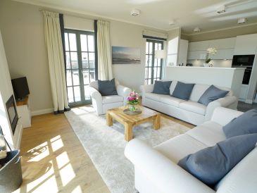 Strandnahe Luxus-Villa mit Wasserblick, eigener Sauna und Kamin
