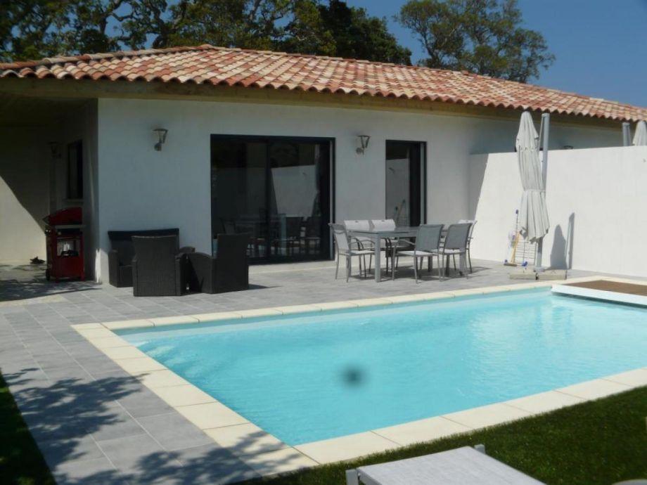 Außenaufnahme Corsevilla : Heated pool near Saint Cyprien beach