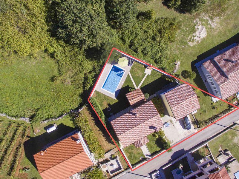 Villa Corina with private pool