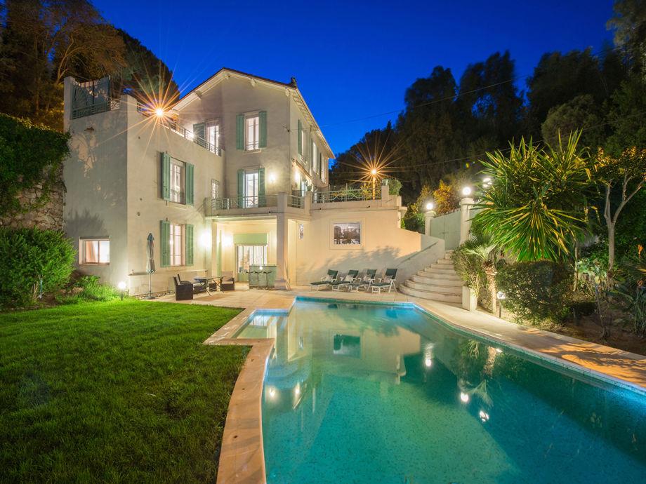 Schöne große Villa bei cannes mit Pool
