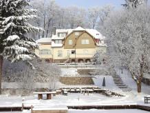 Ferienwohnung Großzügige Familienferienwohnung Haus Elsenhöhe am See
