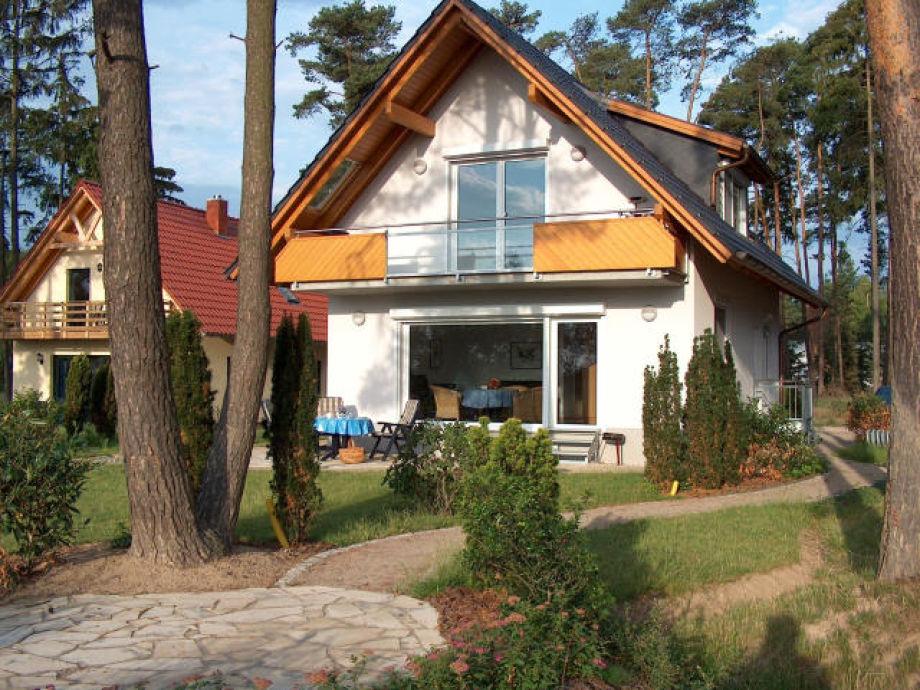 Haus, weiss, Müritzblick13