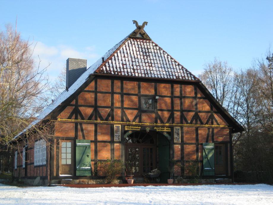 Rosenhof Bohlsen im Winter