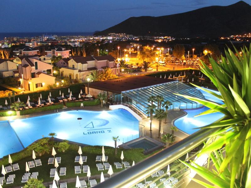 Residenz Zwei-Zimmerwohnung Loano2Village****