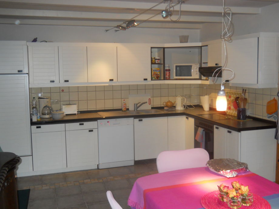 Große Küchenzeile ~ ferienhaus idyllisches familienparadies, nordsee familie j mueller