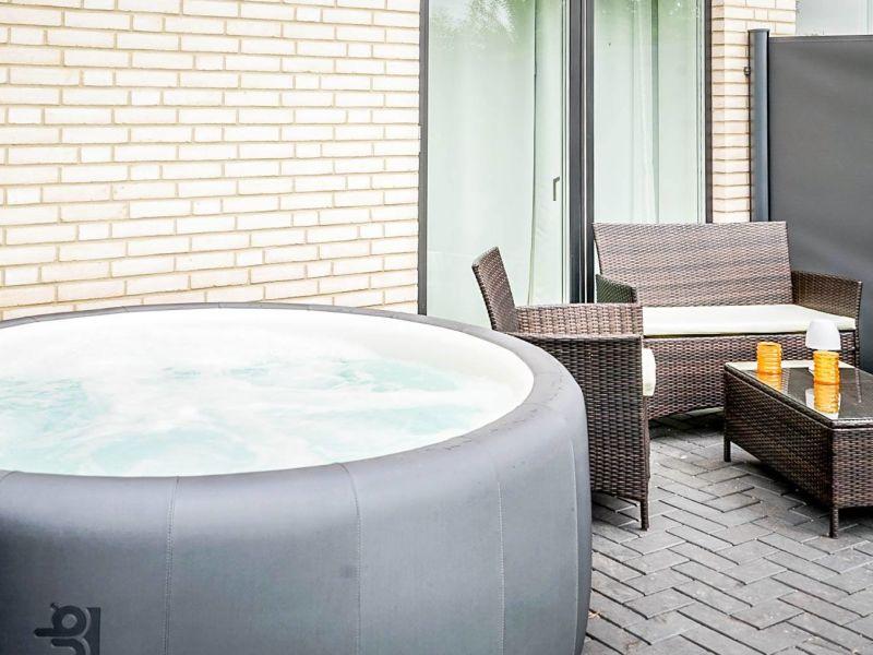 Ferienhaus Ankerplatz mit Whirlpool