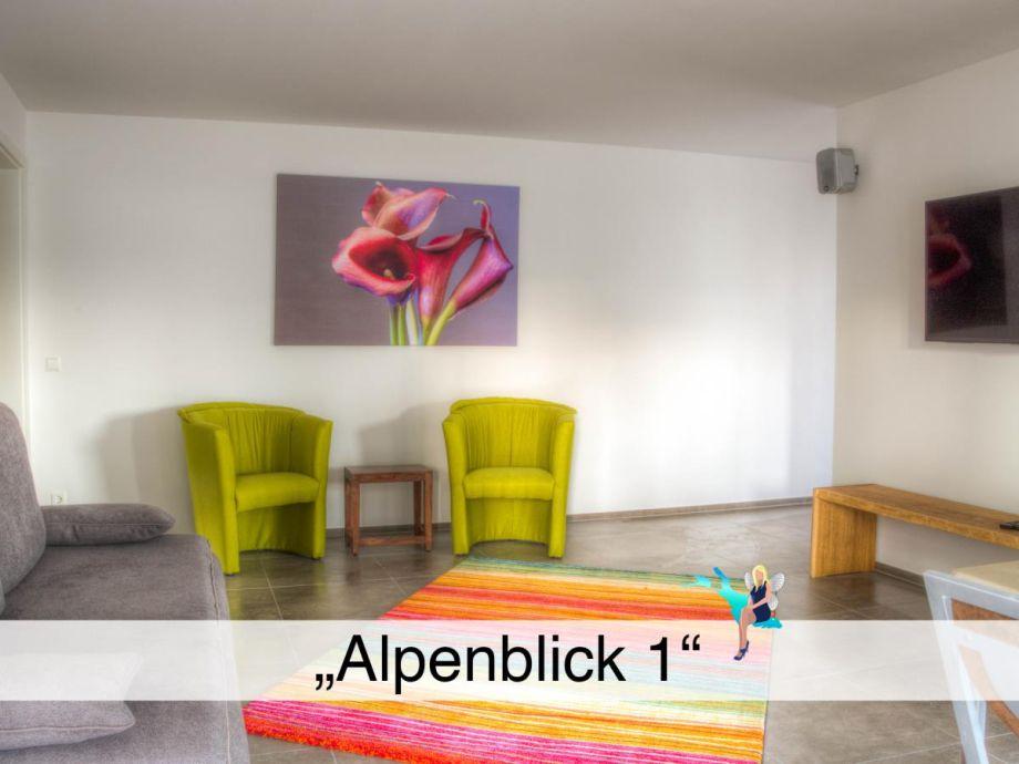 """Ausstattung Ferienwohnung """"Alpenblick 1"""""""