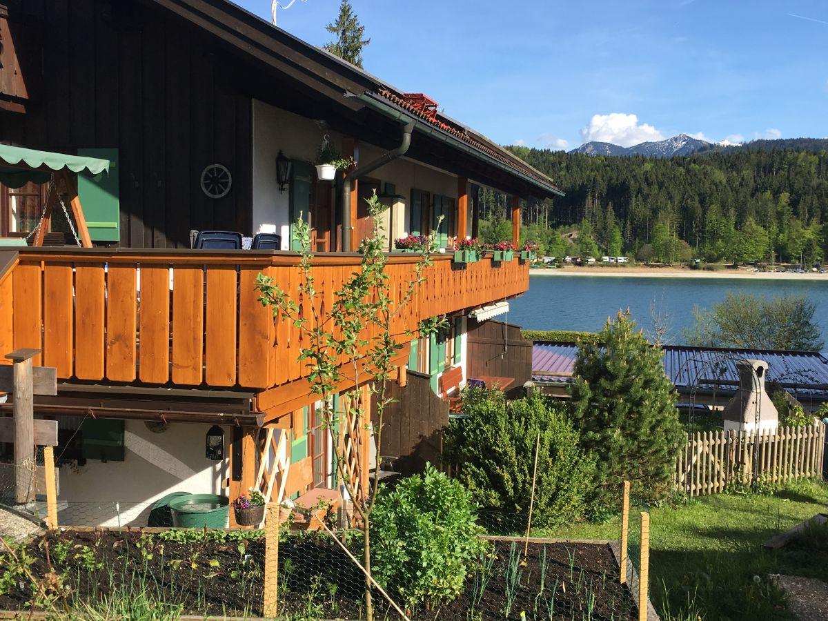 Ferienhaus Walchensee ferienwohnung seeblick im haus seekristall, walchensee, frau sarah