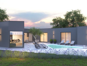 Villa Sandra mit privatem Pool, 900m Strand