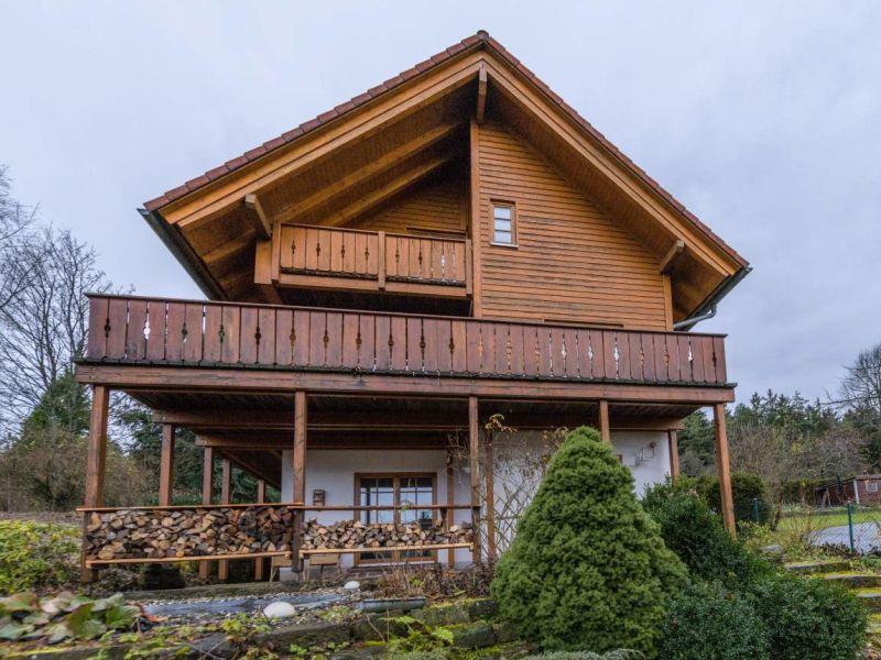 Ferienhaus Holzhaus Oberbrändi