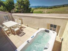 Ferienwohnung Gîte de luxe dans les vignes 4