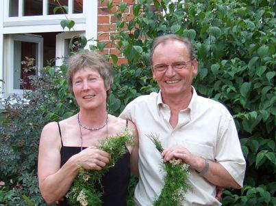 Ihr Gastgeber Dieter und Ellen Apolony