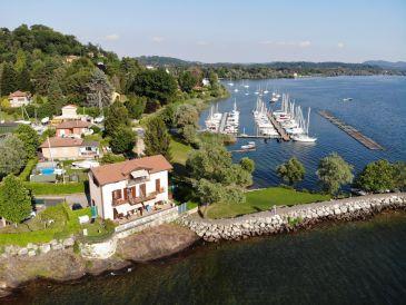 Ferienwohnung Villa Ottolini - mit Dachloggia