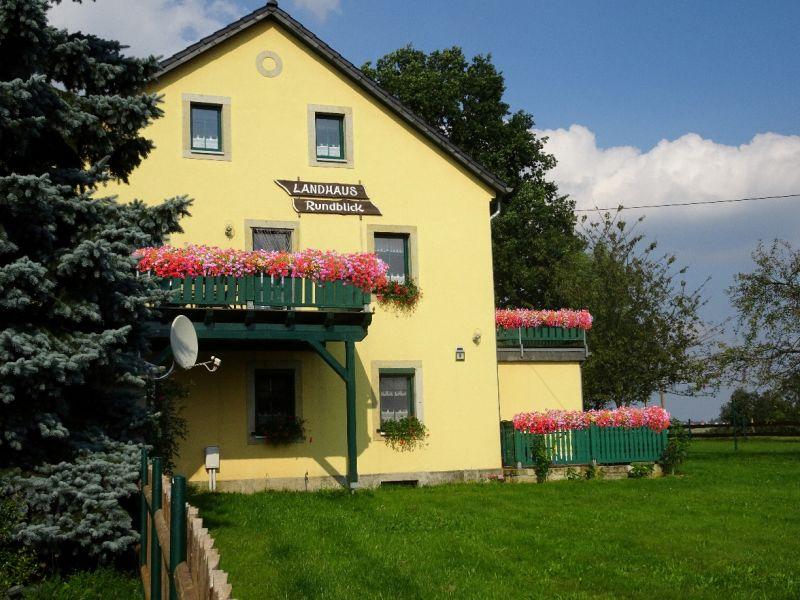 Ferienwohnung Lilienstein im Landhaus Rundblick
