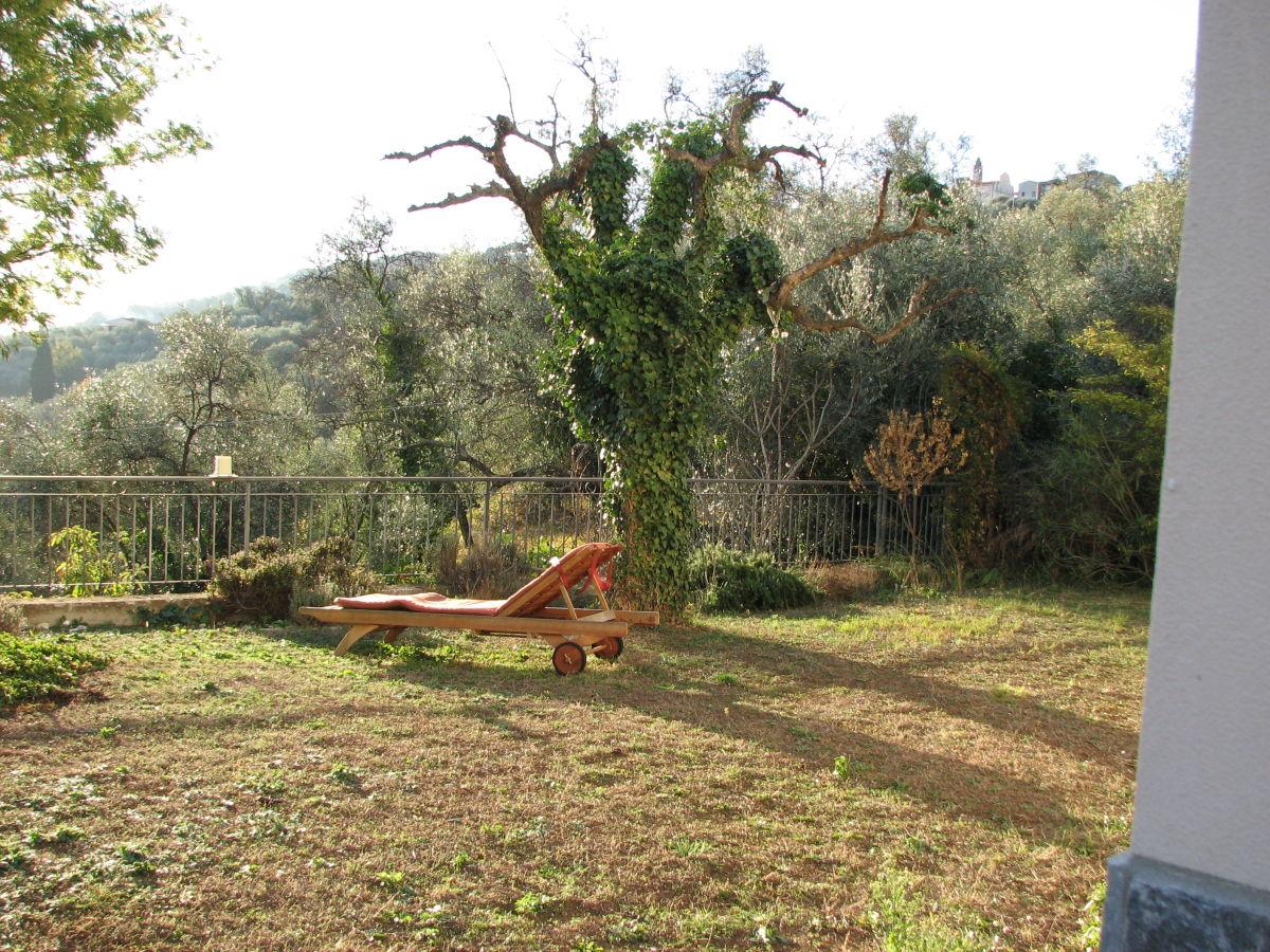Ferienwohnung casa daniela italien ligurien frau daniela riklin formento - Garten im winter ...