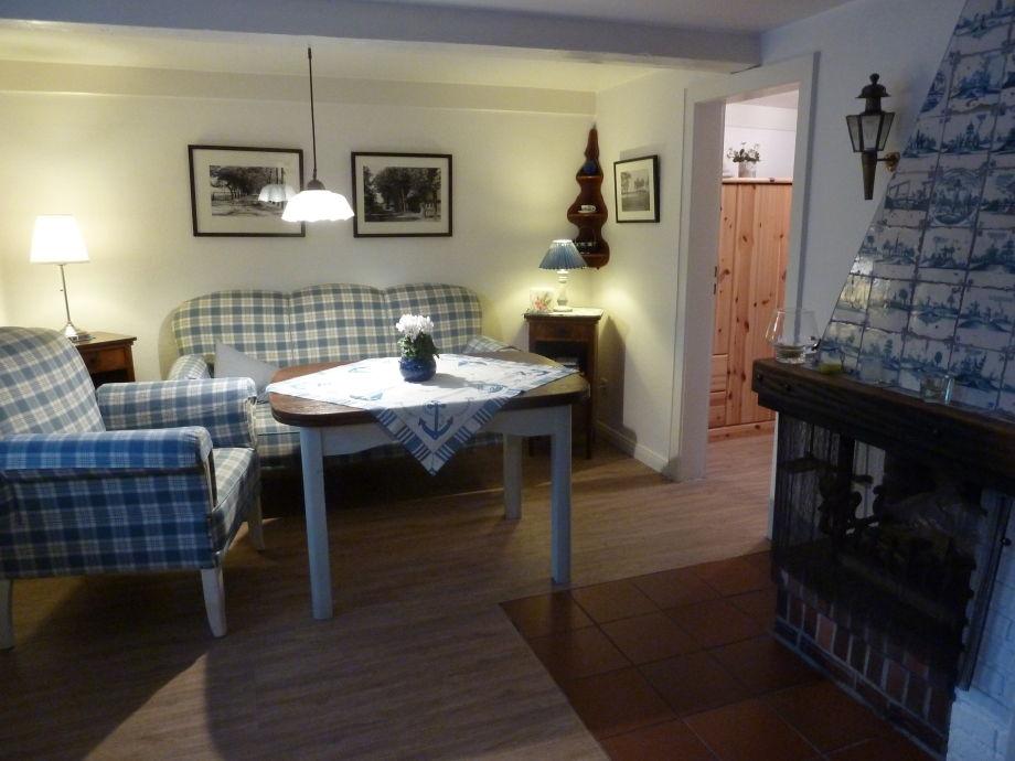 Ferienhaus rosenh uschen f hr nieblum frau johanna for Wohnzimmer 45qm