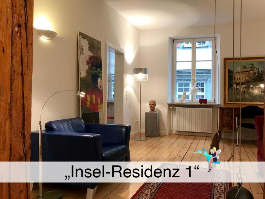 """Ausstattung Ferienwohnung """"Insel-Residenz 1"""""""