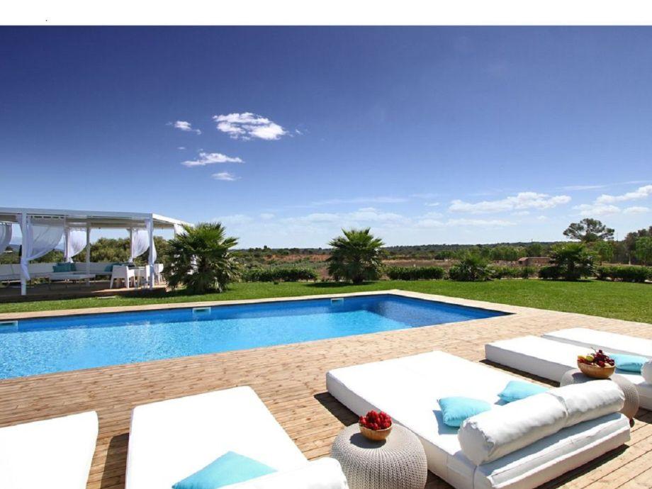 Villa Luxus 14 Personen Mallorca mieten Urlaub