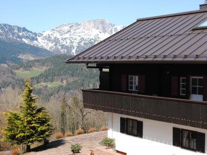im Berghanghäus`l mit Balkon