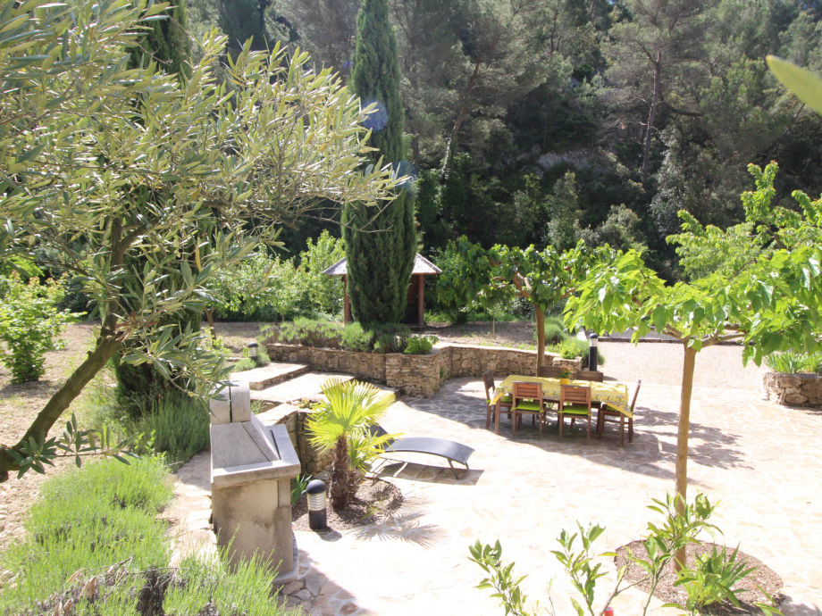 Außenaufnahme Landhaus 0235 Mas du Barroux 8p. Le Barroux, Vaucluse