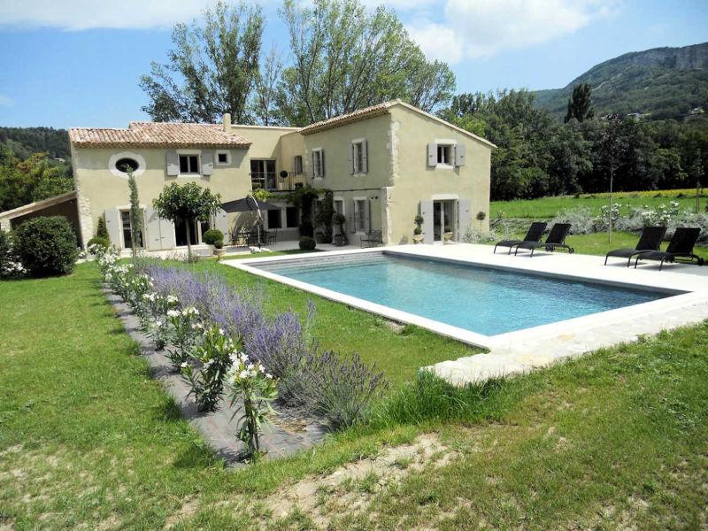 Ferienhaus 0240 Le Jabron, 10P. Souspierre, Drôme provençale