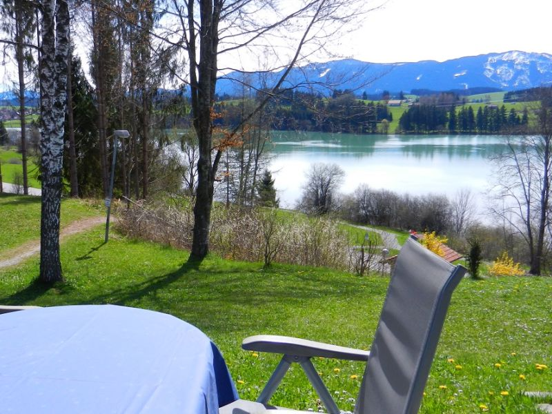 Ferienhaus Lechseeblick - Panoramablick