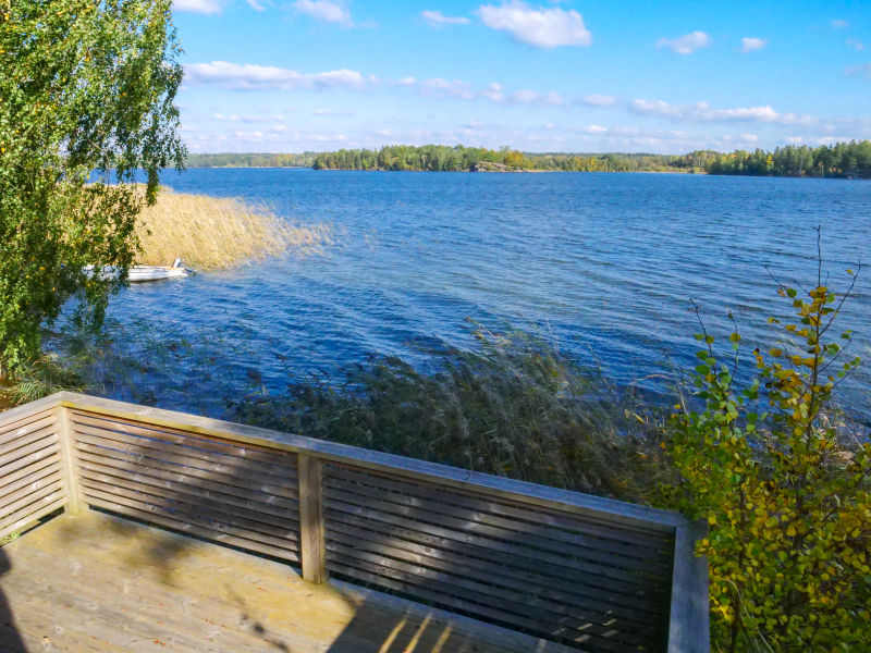 Ferienhaus Noen am See für Angler mit Boot und Sauna
