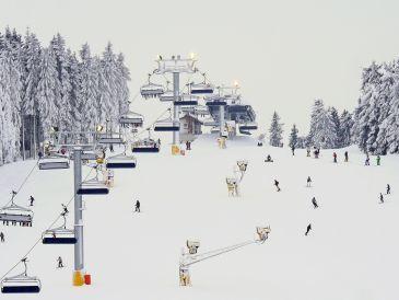 """Ferienwohnung """"Astenperle"""" am Skilift Sahnehang"""
