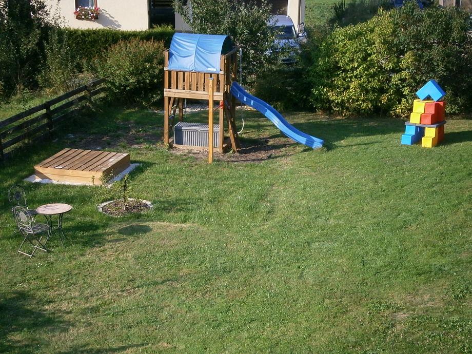 Spielbereich im Garten