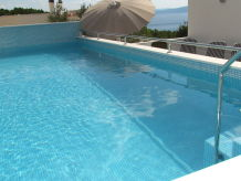 Ferienhaus Vieka mit Pool