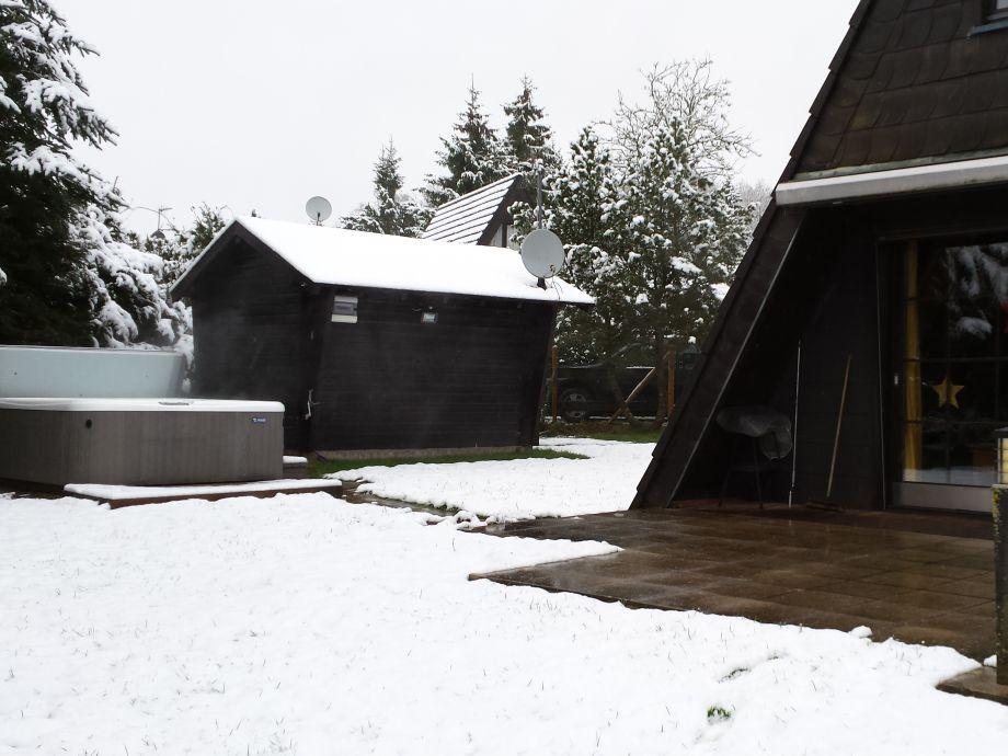"""Außenaufnahme """"Günnis Hütte"""""""