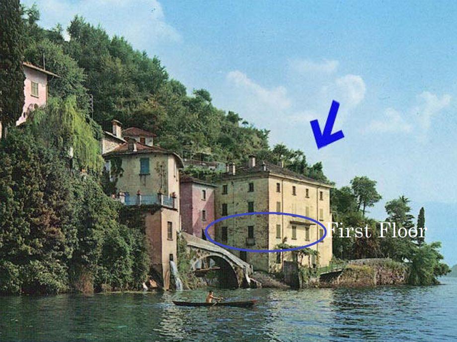 Außenaufnahme Palazzo (am Comer See)